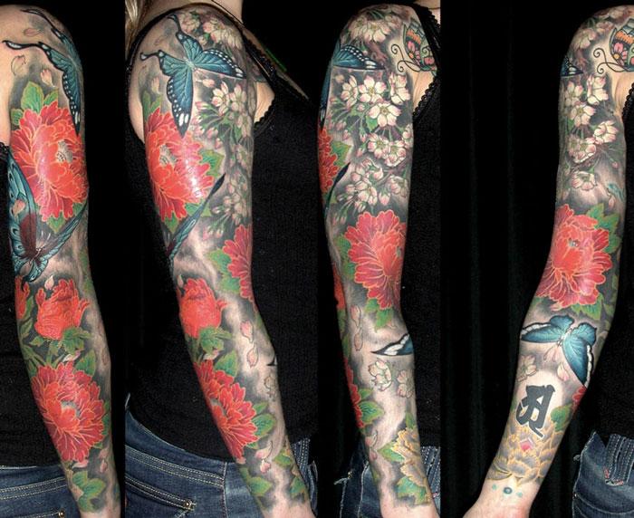 date nombre tibet tatouage